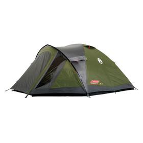 Coleman Darwin 4 Plus tent grijs/groen
